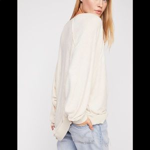 Free People Take It Off Pullover-cream-Large